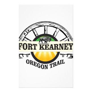 seal fort kearney stationery