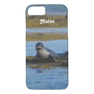 Seal in Casco Bay Maine iPhone 7 Case