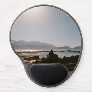 Seal in New Zealand Sunshine - mousemat Gel Mouse Pad