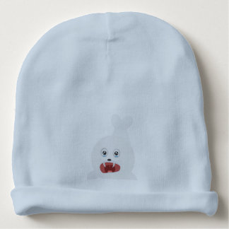 Seal is crying Zr2rw Baby Beanie