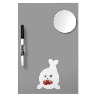 Seal is crying Zr2rw Dry Erase Whiteboard
