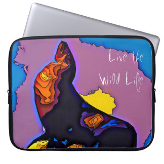 Seal - Live the Wild Life / Laptop Sleeve