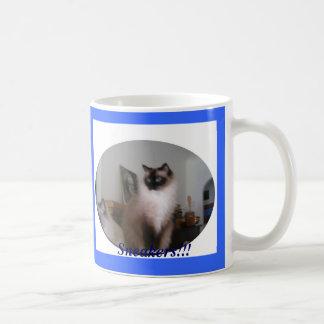 Seal Mitted Ragdoll Cat, Sneakers!!! Coffee Mug