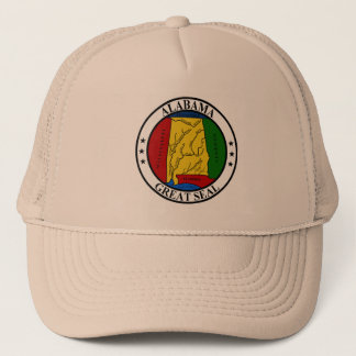 Seal of Alabama Trucker Hat