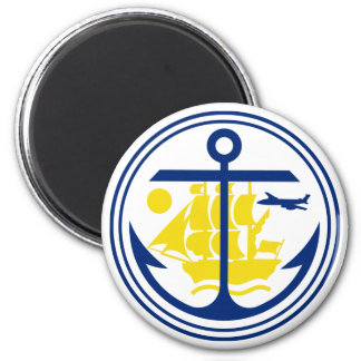 Seal of Anchorage Fridge Magnets