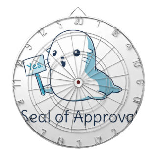 Seal Of Approval Tee T-shirt Dartboard