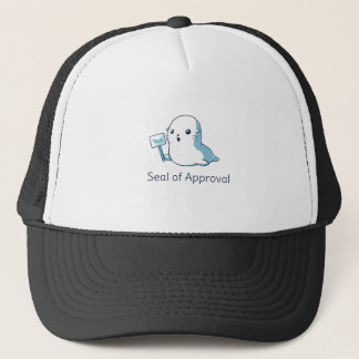 Seal Of Approval Tee T-shirt Trucker Hat