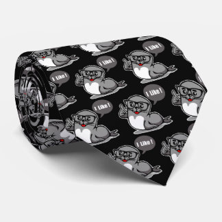 Seal of approval tie