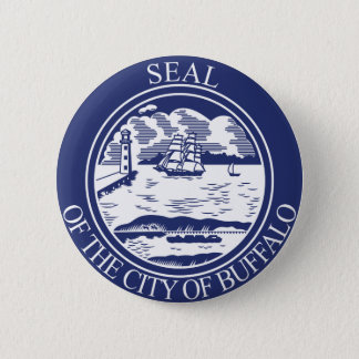 Seal of Buffalo, New York 2 Inch Round Button