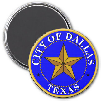 Seal of Dallas, Texas Magnet