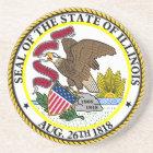 Seal of Illinois Coaster