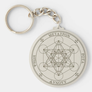 Seal of Metatron Keychain