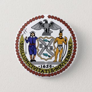 Seal of New York 2 Inch Round Button