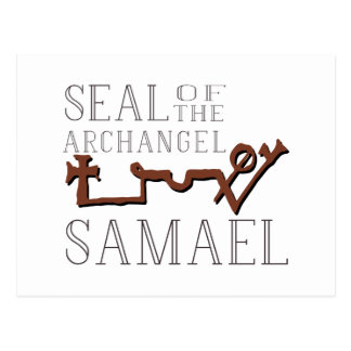 Seal of Samael Postcard