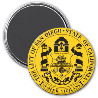 Seal of San Diego, California Magnet