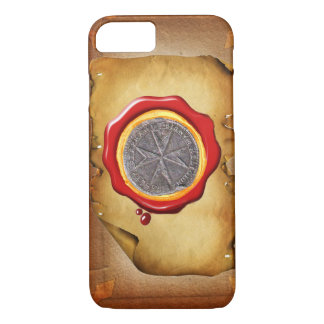 Seal of St. Stephen Tuscany Medici WAX parchment iPhone 8/7 Case