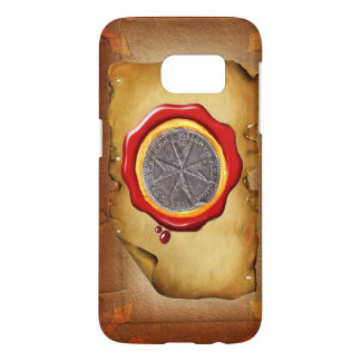 Seal of St. Stephen Tuscany Medici WAX parchment Samsung Galaxy S7 Case