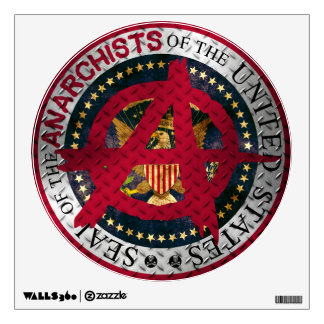 Seal of the Anarchists of the United States Wall Decal