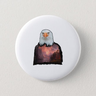 Seal of the Brave 2 Inch Round Button