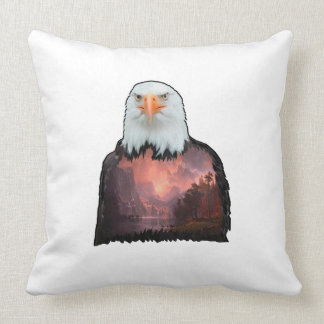 Seal of the Brave Throw Pillow