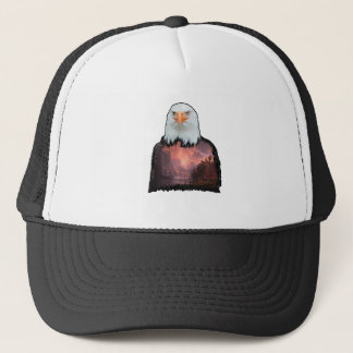Seal of the Brave Trucker Hat
