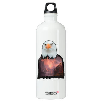 Seal of the Brave Water Bottle