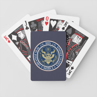 Seal of the Don Bicycle Playing Cards