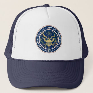 Seal of the Don Trucker Hat