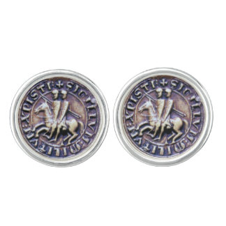 SEAL OF THE KNIGHTS TEMPLAR CUFF LINKS