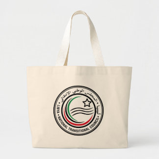 Seal_of_the_National_Transitional_Council_( Large Tote Bag