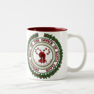 Seal of the Office of Santa Claus Mug