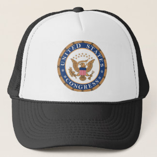 Seal of the US Congress Court Trucker Hat