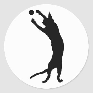 Seal Point Siamese Cat Silhouette Sticker