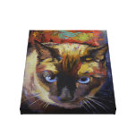 Seal Point Siamese Painting