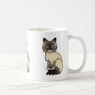 Seal Point Tabby Birman / Ragdoll Cat