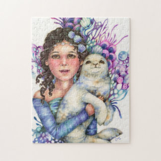 Seal Princess Fantasy Puzzle