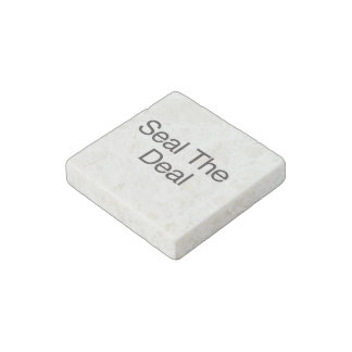 Seal The Deal ai Stone Magnet