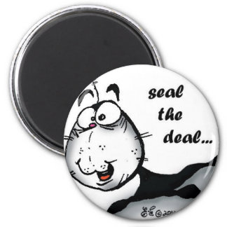 Seal the Deal Refrigerator Magnet