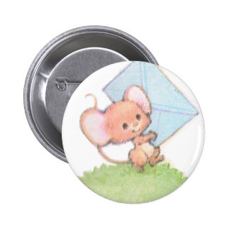 Sealed With A Kiss Mice Love Letter 2 Inch Round Button