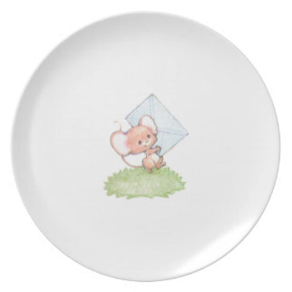 Sealed With A Kiss Mice Love Letter Plates