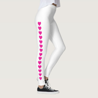 Sealed With Hearts! Leggings