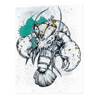Sealife Lobster Postcard
