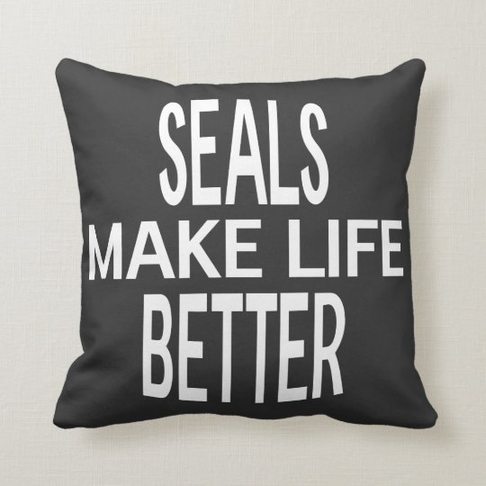 Seals Better Pillow - Assorted Styles & Colours