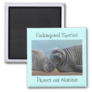 Seals Habitat Protection Magnet