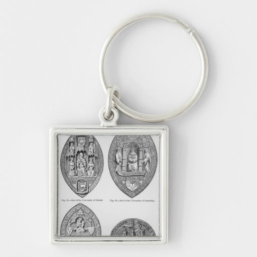 Seals of the Universities Key Chains