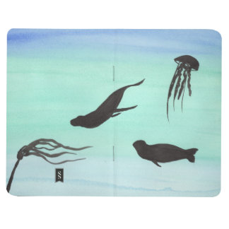 Seals Swimming Pocket Journal