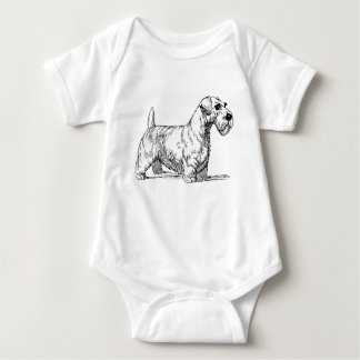 Sealyham Dog Baby Bodysuit