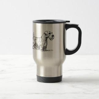 Sealyham Dog Travel Mug