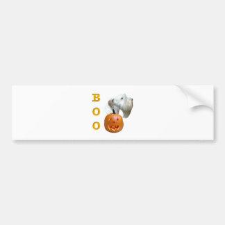 Sealyham Terrier Boo Bumper Sticker