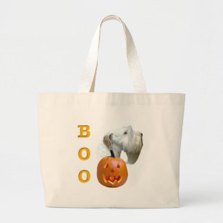 Sealyham Terrier Boo Large Tote Bag